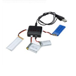 Bộ chia 4 đầu sạc pin cho Flycam