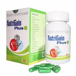 Thực phẩm chức năng Tăng Cân - Nutrigain Plus+ 60 viên