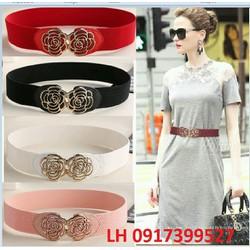 Thắt lưng dây nịt nữ thời trang Hàng Nhập L12160