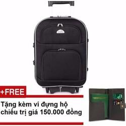 Vali du lịch 20 inch Tặng ví đựng hộ chiếu trị giá 150.000 đồng
