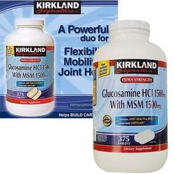 Viên uống bổ khớp Glucosamine Kirkland 1500mg, hộp 375 viêncủa Mỹ
