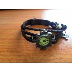 Đồng hồ dây da phong cách cổ điển lạ lẫm cho nữ
