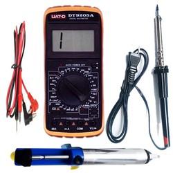 Bộ 1 Đồng hồ đo vạn năng UAT-D kèm mỏ hàng và bút hút chì