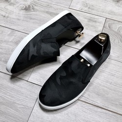 Giày Lười    Giày Vải Cao Cấp #JINSTORE