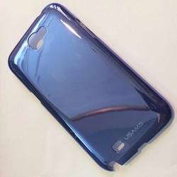 Ốp lưng Galaxy Note 2 N7100 tím than hiệu HERA