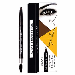 Chì kẻ chân mày Vacosi Auto Eyebrow Pencil, 05 Natural Brown