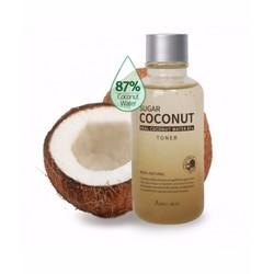 Dung dịch cân bằng da April Skin Sugar Coconut Toner 120ml