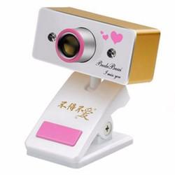 Webcam cho laptop Budebuai TR350 Vàng