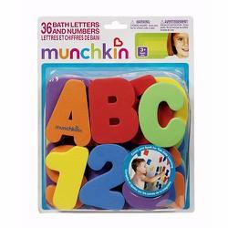 Bộ chữ số 36 chữ xốp Munchkin