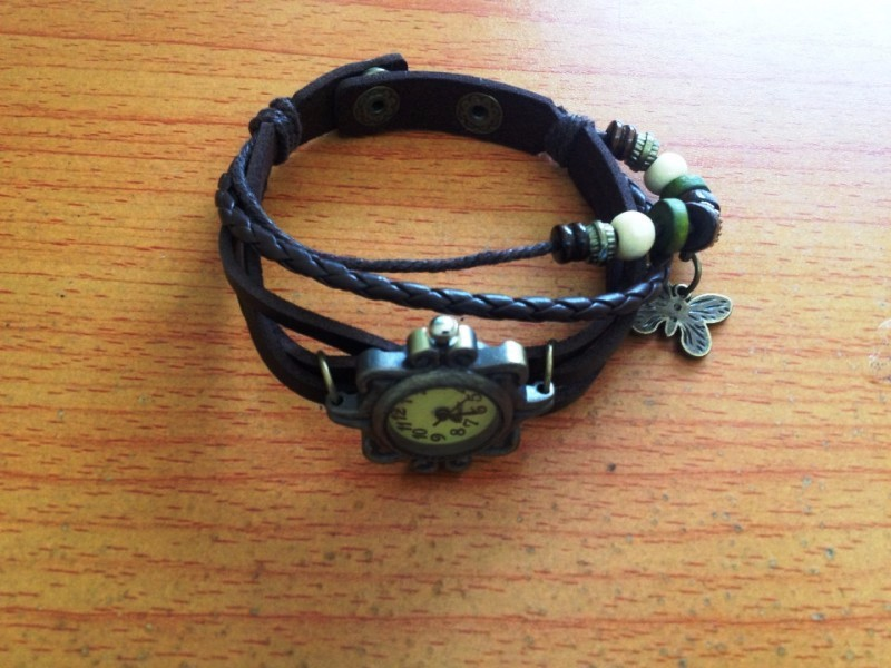 Đồng hồ dây da phong cách cổ điển lạ lẫm cho nữ 5