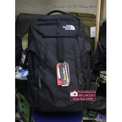 Balo Laptop The North Face Router 2015- màu đen