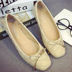 Giày búp bê đính nơ nhỏ xinh cho bạn gái thêm đáng yêu-146