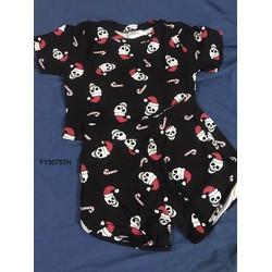 Set bộ thun áo croptop quần short họa tiết-  MS: S130759 Gs: 75K