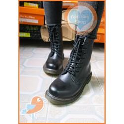 [ẢNH THẬT] - Giày boots combat boots trung tính