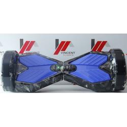 Xe tự cân bằng 8 inch bản cao cấp -AL đen xanh đầu lâu