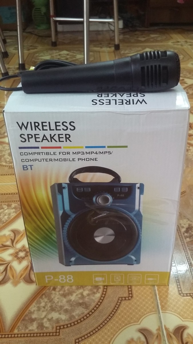 Loa Bluetooth Xách Tay P88 Tặng Kèm Micro 2