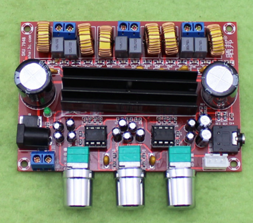 Mạch khuếch đại âm  classD 2.1 2x50W + 100W TPA3116D2 5