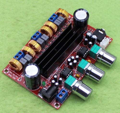 Mạch khuếch đại âm thanh classD 2.1 2x50W + 100W TPA3116D2 6