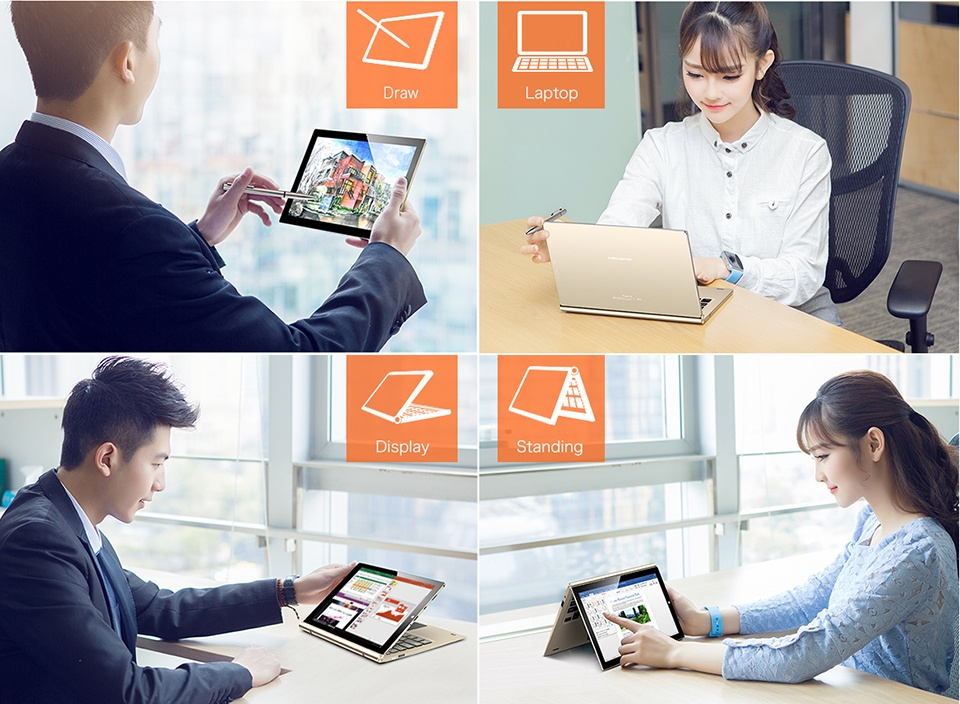 máy tính bảng Teclast Tbook 10 S Windows 10 + Android 5.1 6