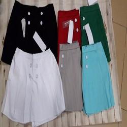 Quần gìa váy kaki nữ