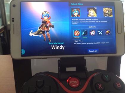 Tay cầm chơi game bluetooth TERIOS cho điện thoại,laptop, ipad, tivi 8
