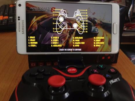 Tay cầm chơi game bluetooth TERIOS cho điện thoại,laptop, ipad, tivi 6
