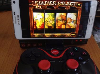 Tay cầm chơi game bluetooth TERIOS cho điện thoại,laptop, ipad, tivi 3