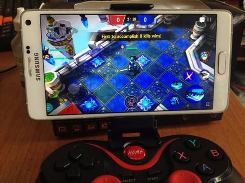 Tay cầm chơi game bluetooth TERIOS cho điện thoại,laptop, ipad, tivi 5