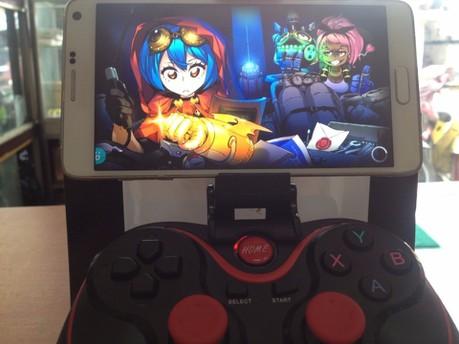 Tay cầm chơi game bluetooth TERIOS cho điện thoại,laptop, ipad, tivi 10