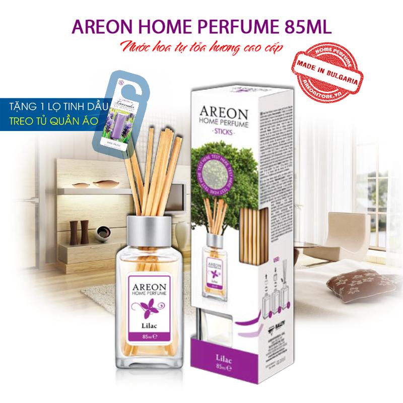 Tinh dầu thơm phòng Areon Home Lilac Perfume, hương hoa tử đinh hương 1