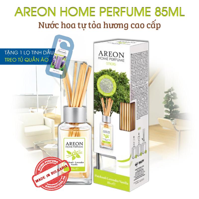 Tinh dầu thơm phòng Areon Home Patchouli Lavender Vanilla Perfume 1