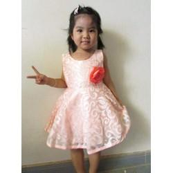 Đầm ren công chúa cho bé 1-5 T