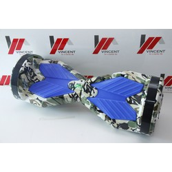Xe tự cân bằng 8 inch bản cao cấp -AL xanh ngụy trang