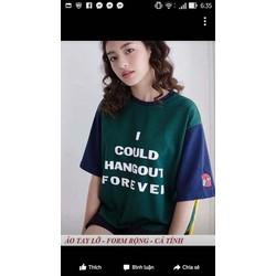 áo thun cotton teen nữ