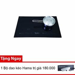Bếp từ đôi CHIYODA C1a nhập khẩu từ Nhật Bản tặng bộ dao kéo 180.000
