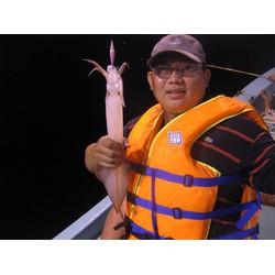 Tour Câu Mực Đêm Tại Nha Trang