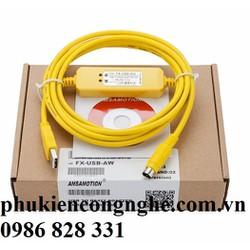 Cáp lập trình FX-USB-AW+ cho PLC Mitsubishi FX3U