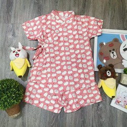 bộ ngủ pijama nữ