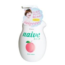 Sữa tắm Naive Nhật Bản hương đào