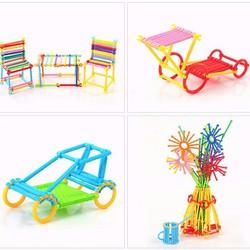 Đồ chơi xếp hình que hơn 400 chi tiết giúp trẻ sáng tạo