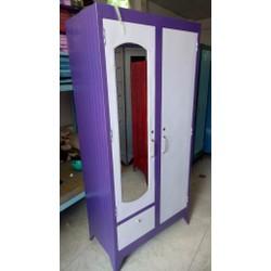 tủ sắt quần áo neww 100@giá rẻ LH: 01696399906