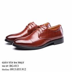 Giày tây da thật- Giày công sở sang trọng lịch lãm