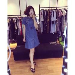 Đầm Jean Đuôi Cá hot