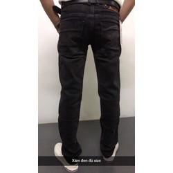 Quần Jean nam dài xám đen