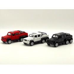 Xe bán tải mô hình sắt mở cửa tỉ lệ 1:32 - 987-39