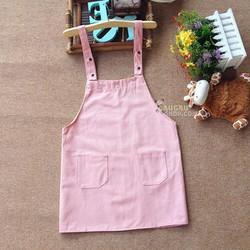 Váy yếm xinh xắn 2 túi siu dễ thương