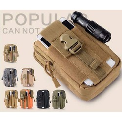 Túi đeo hông quân đội tiện lợi khi đi du lịch