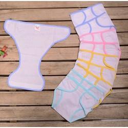 Combo 10 tã + 10 khăn lót chống thấm cho bé