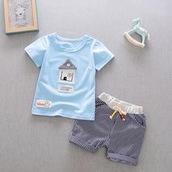 Bộ quần áo bé trai house