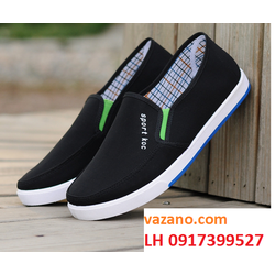 Giày thể thao nam giày lười nam giày mọi nam thời trang Hàn Quốc L12T6